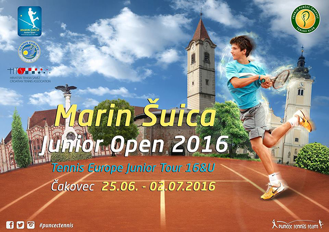 MARIN ŠUICA JUNIOR OPEN 2016